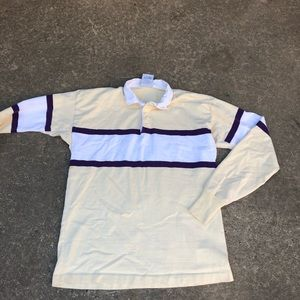 Vintage Lands' End rugby polo XXL